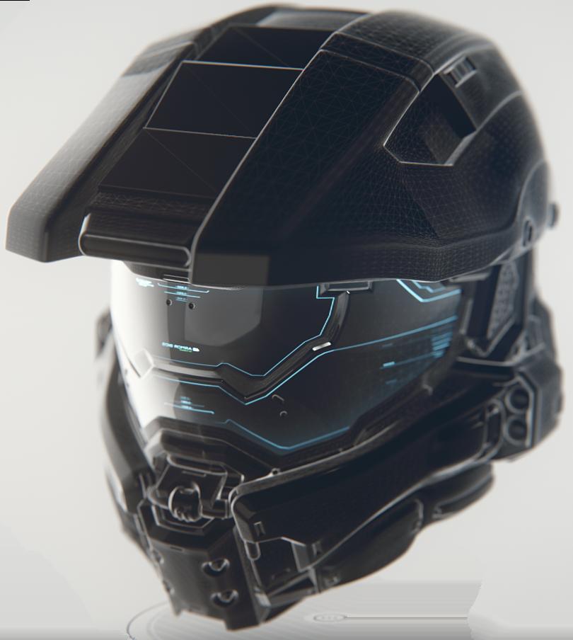 0ca392f0813 Halo Helmet Concept | Cool Gadgets | Halo cosplay, Halo armor, Halo game