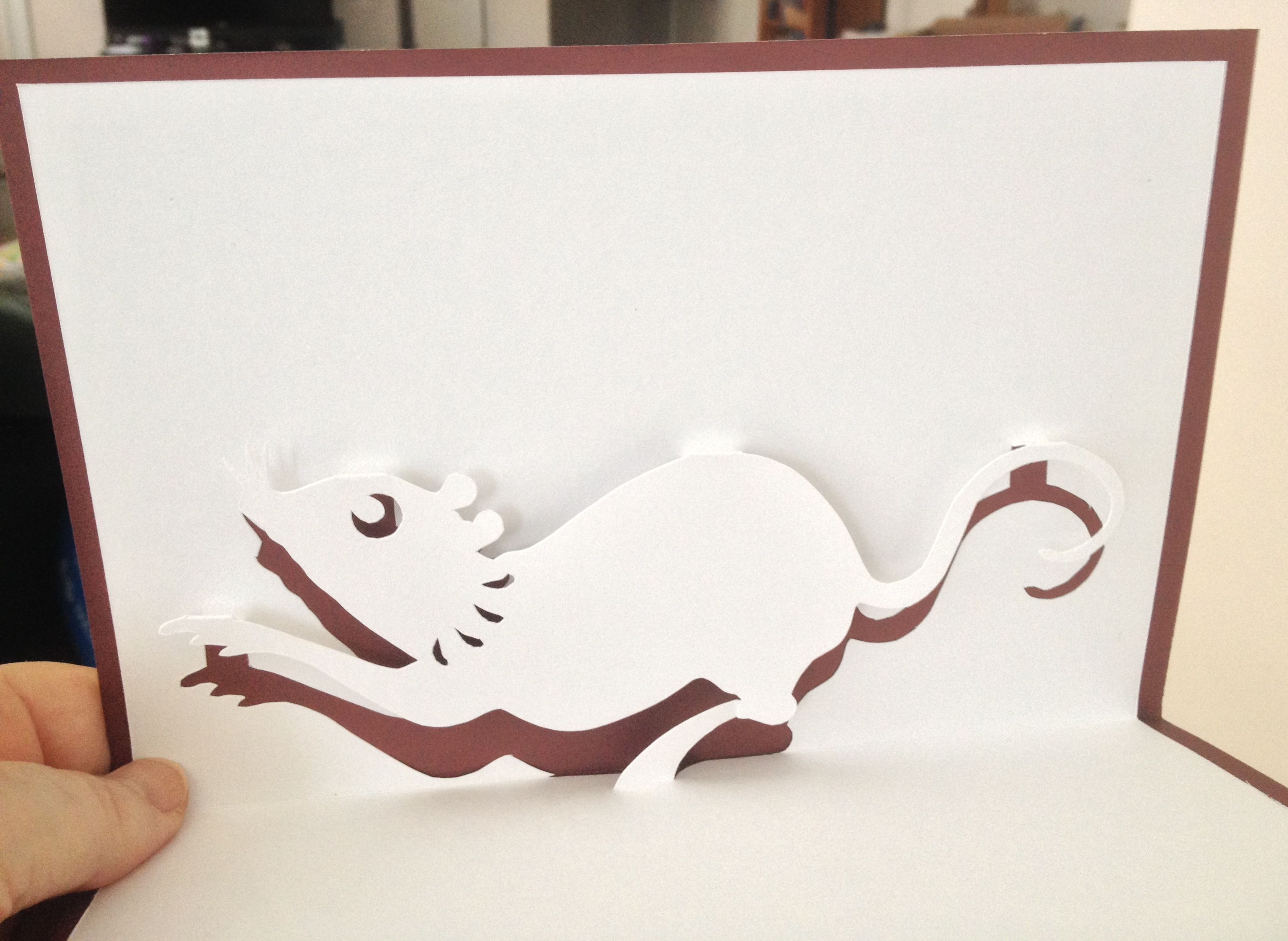 Year Of The Rat Symbol Pop Up Nana Cards Pinterest Rats