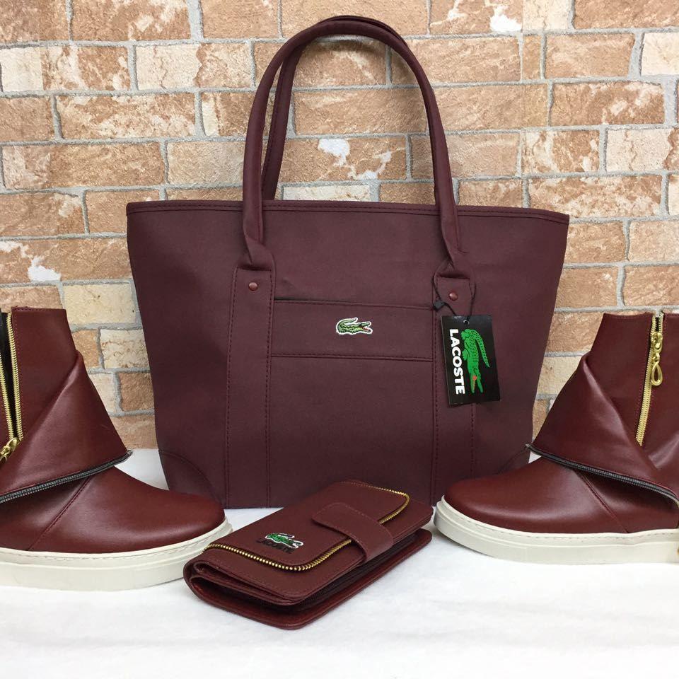 0737c86ccff60 Lacoste – 1334 Ayakkabı, Çanta, Cüzdan Kombin | Kombin Modelleri in ...