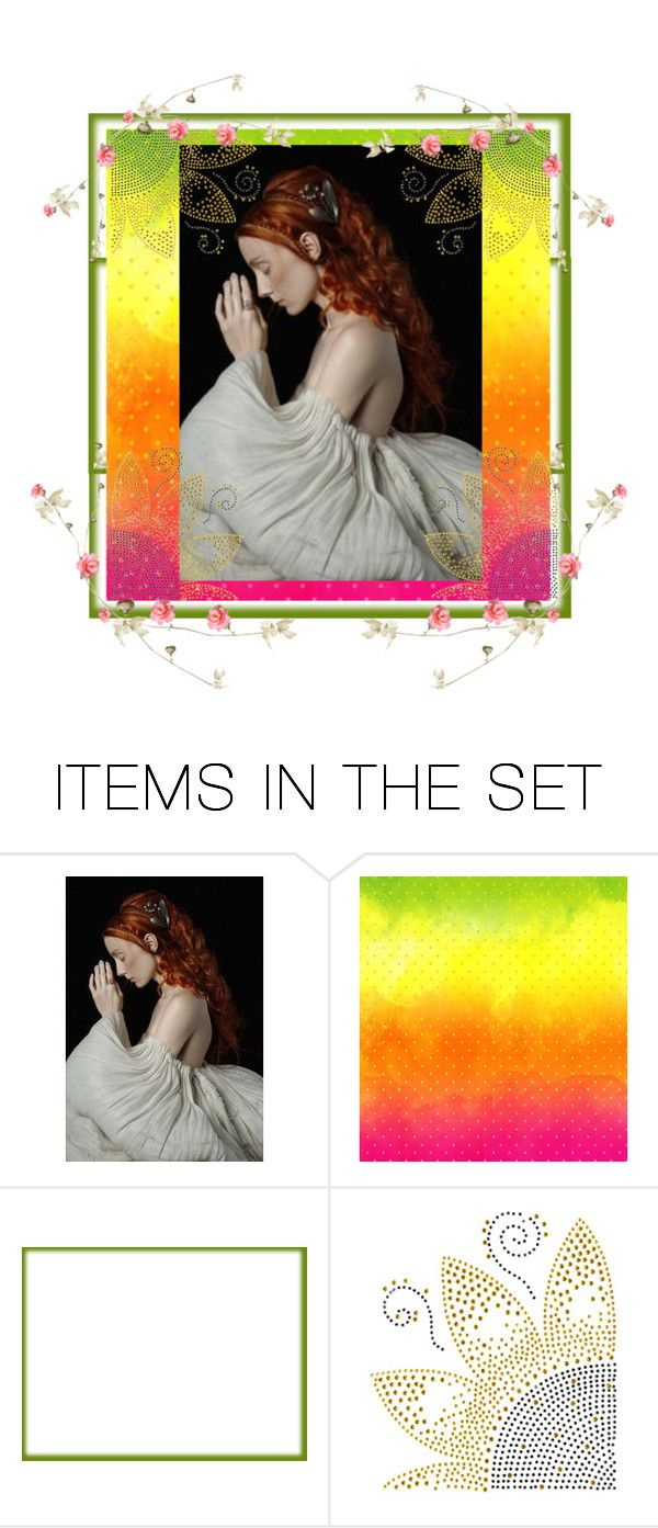 """""""Speaking to God"""" by glitterlady4 ❤ liked on Polyvore featuring art"""