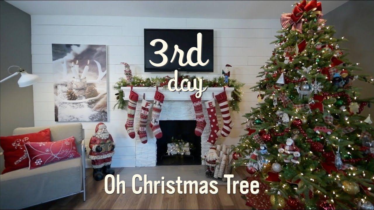 Christmas Tree | Christmas Tree Decorating on a Budget | 3 - YouTube ...