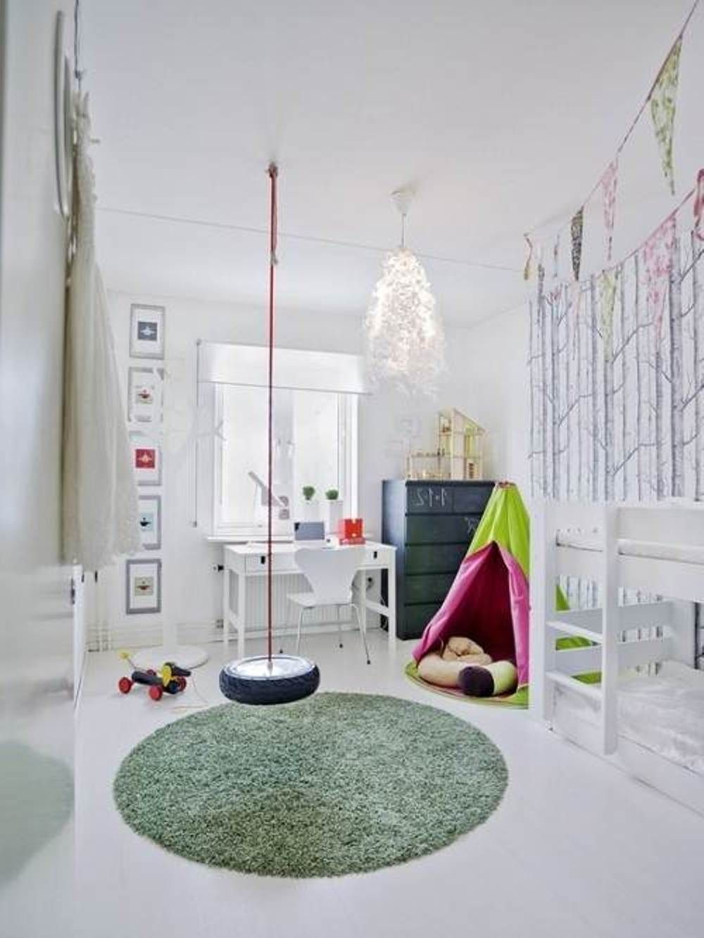 Under loft bed lighting ideas  Exciting Decorating Ideas for Kids Bedrooms  nau  Pinterest