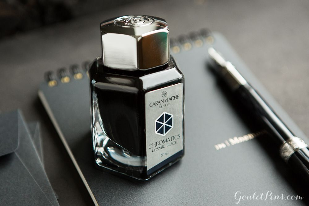 Fountain Pen Refills Caran D/'ache Chromatics Cartridge Cosmic Black -6//Box