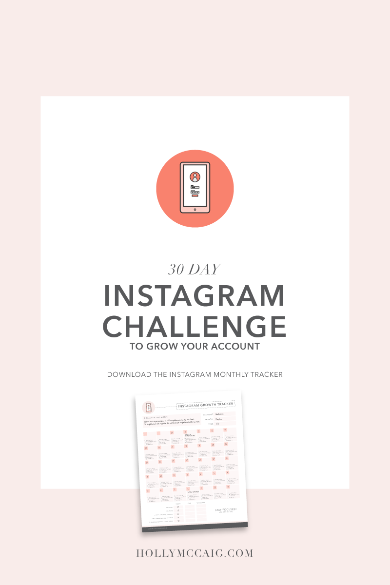 30 Day Instagram Challenge to Grow Your Account