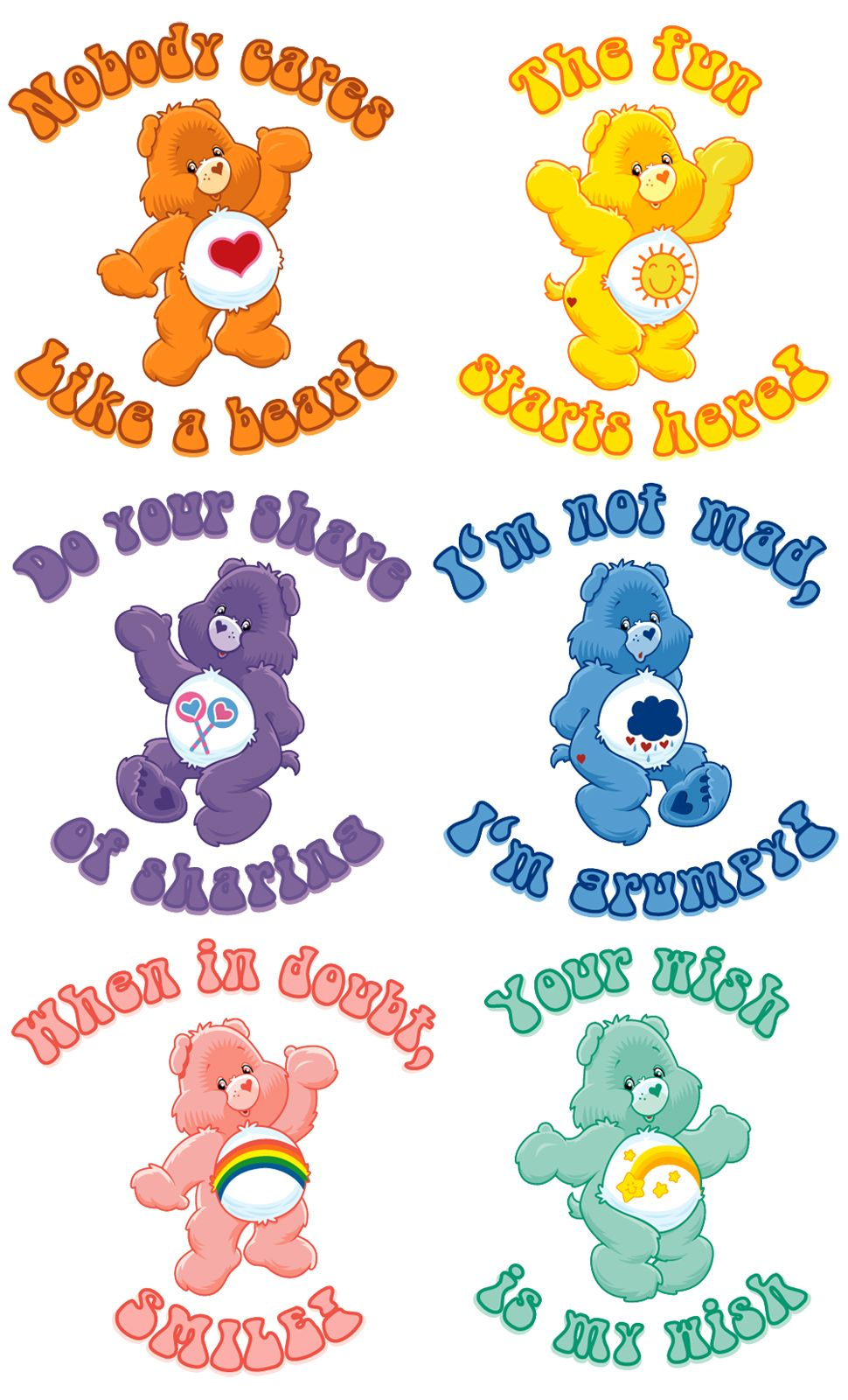 Carebears Is It Weird That They Still Make Me Insanely Happy Just