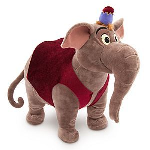 Disney Abu as Elephant Plush - Aladdin - Medium - 13 1/2'' H   Disney StoreAbu as Elephant Plush - Aladdin - Medium - 13 1/2'' H - Prince Ali, mighty is he - enough to ride into town accompanied by a pleasingly plump royal elephant (secretly Abu in disguise). Aladdin's plush pachyderm is sure to lead the welcome parade whenever you come around!