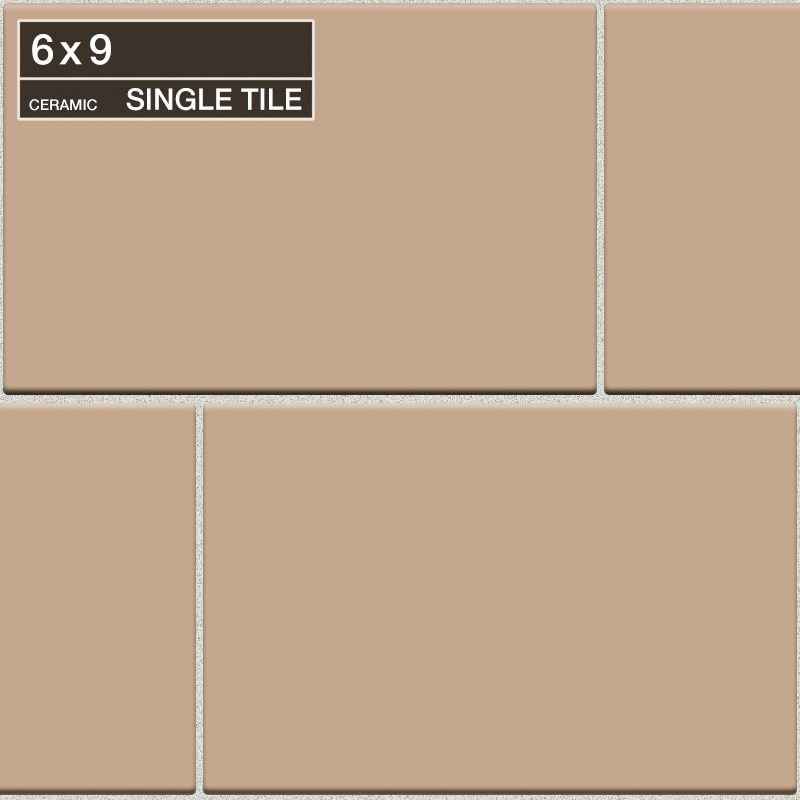 "Daltile QH20-691P Natural Hues Spice 9"" x 6"" Flat Ceramic Multi-Surface Tile (Sp Spice Tile Multi-Surface Tile Field Tile"