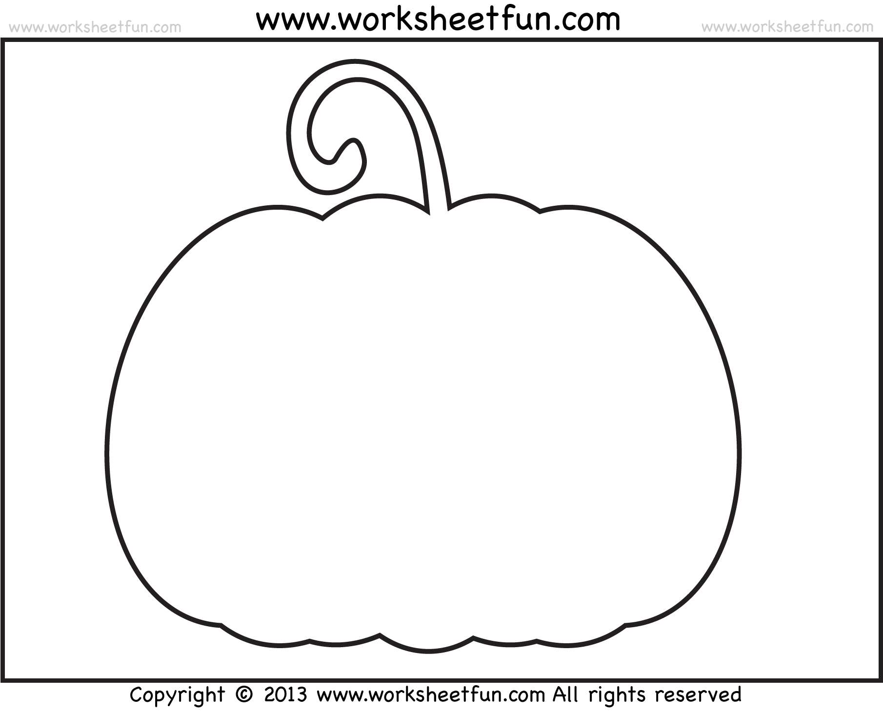 Best Photos of Pumpkin Cut-Out Templates - Pumpkin Templates ...