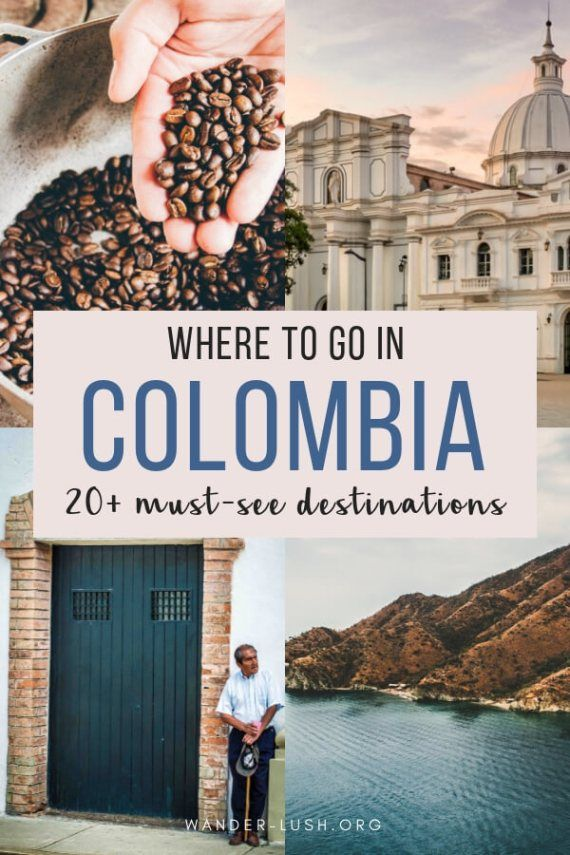 Photo of 24 Stunning Places to Visit in Colombia
