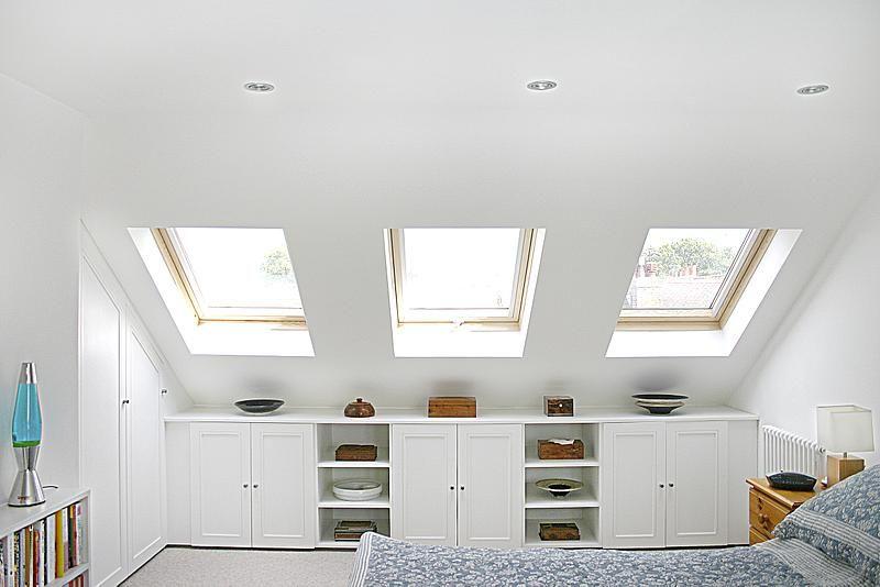 Alcove Cupboard Storage In Loft Conversion Loft Room Attic Bedrooms Loft Conversion Bedroom