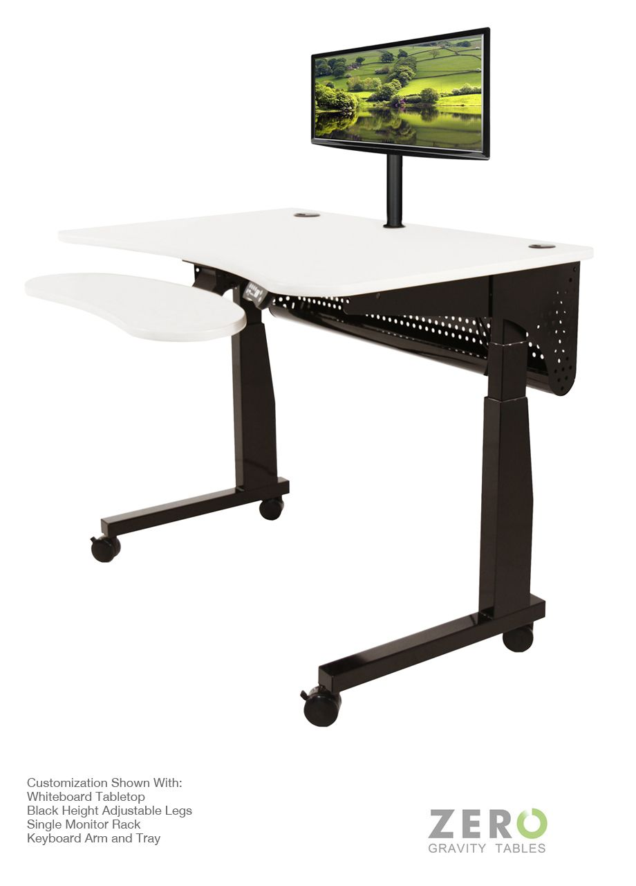 The Deluxe Electric Lift Standing Table Is One Of A Kind, With Itu0027s  Intuitive Controls