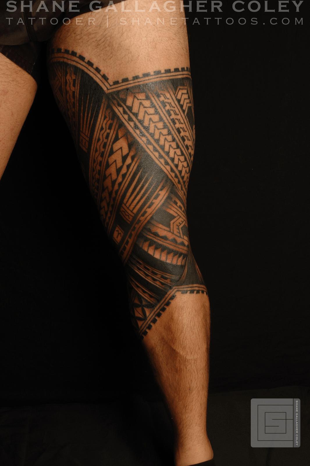 Traditional Maori Tattoos Leg: MAORI POLYNESIAN TATTOO: Polynesian Leg Tatau/Tattoo