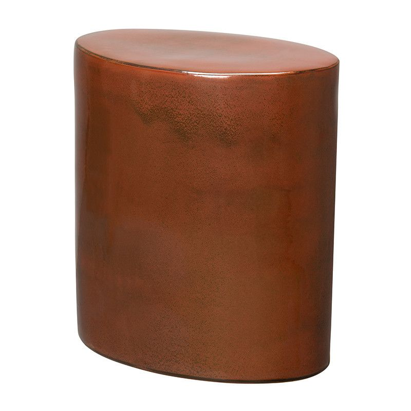 Garden Stools   Oval Garden Stool   Copper