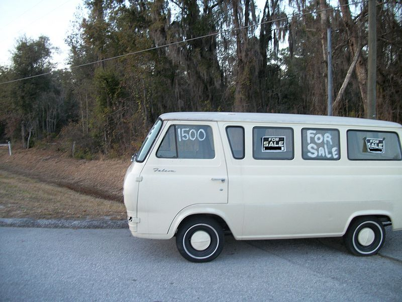 1960 S Ford Econoline Falcon Yeah Exactly The Vehicle To Attach