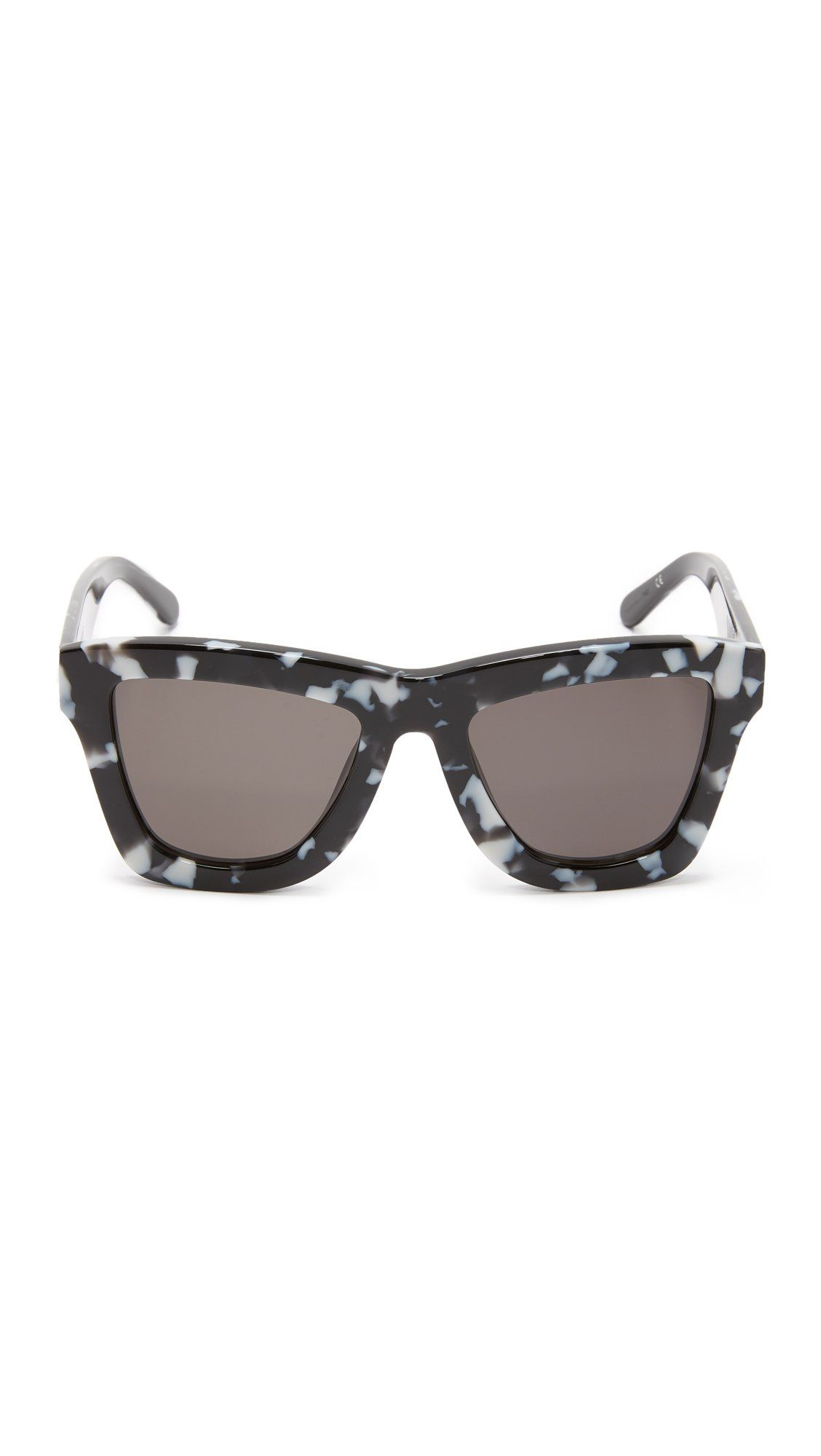a3740e22c1e Valley Eyewear Womens DB II Sunglasses Black Marble Black One Size     Want