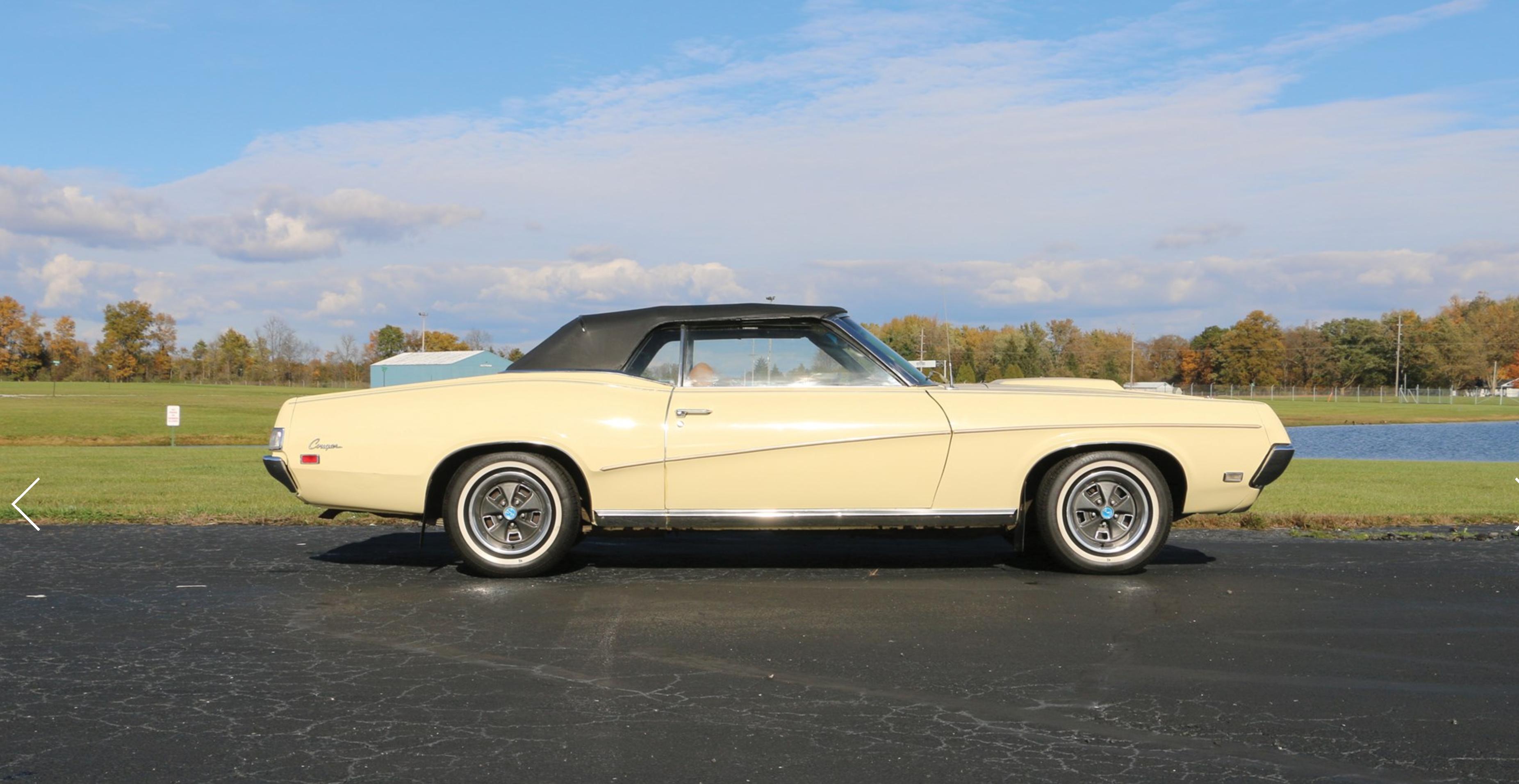 1969 Mercury Cougar CJ428 Convertible Muscle cars