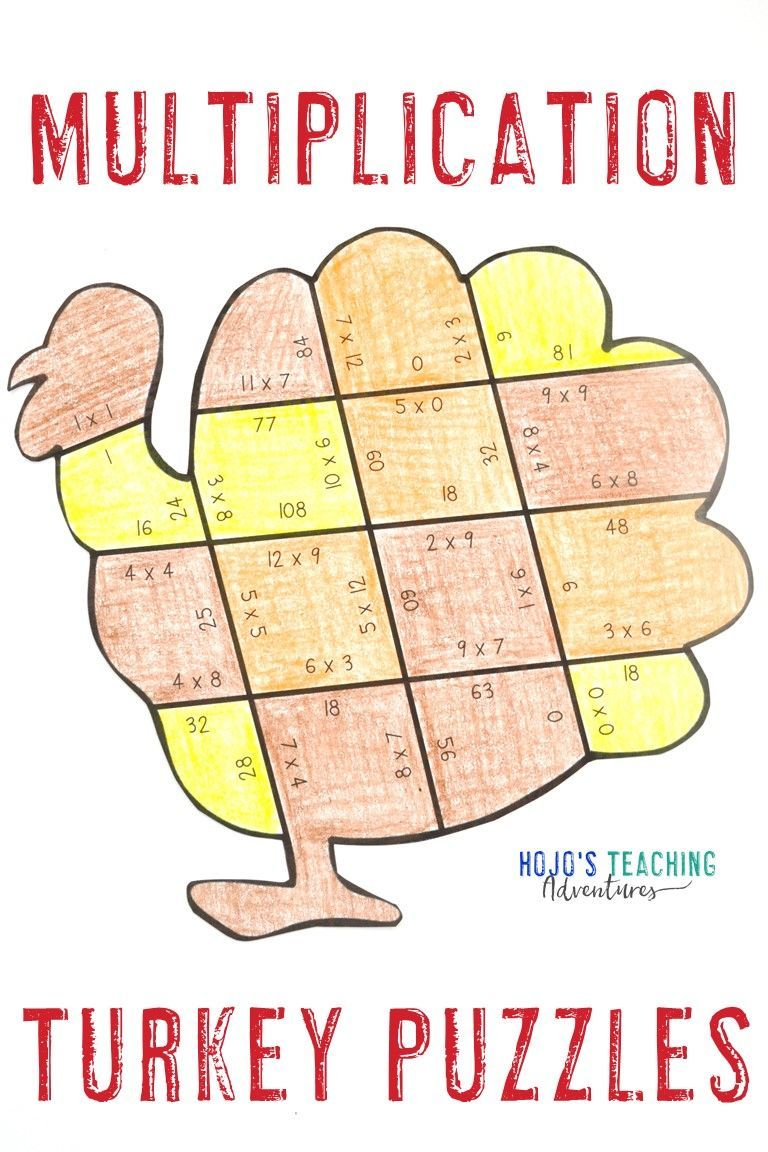 Thanksgiving Math Worksheet Alternative   Digital Thanksgiving Math Games   Thanksgiving  math activities [ 1152 x 768 Pixel ]