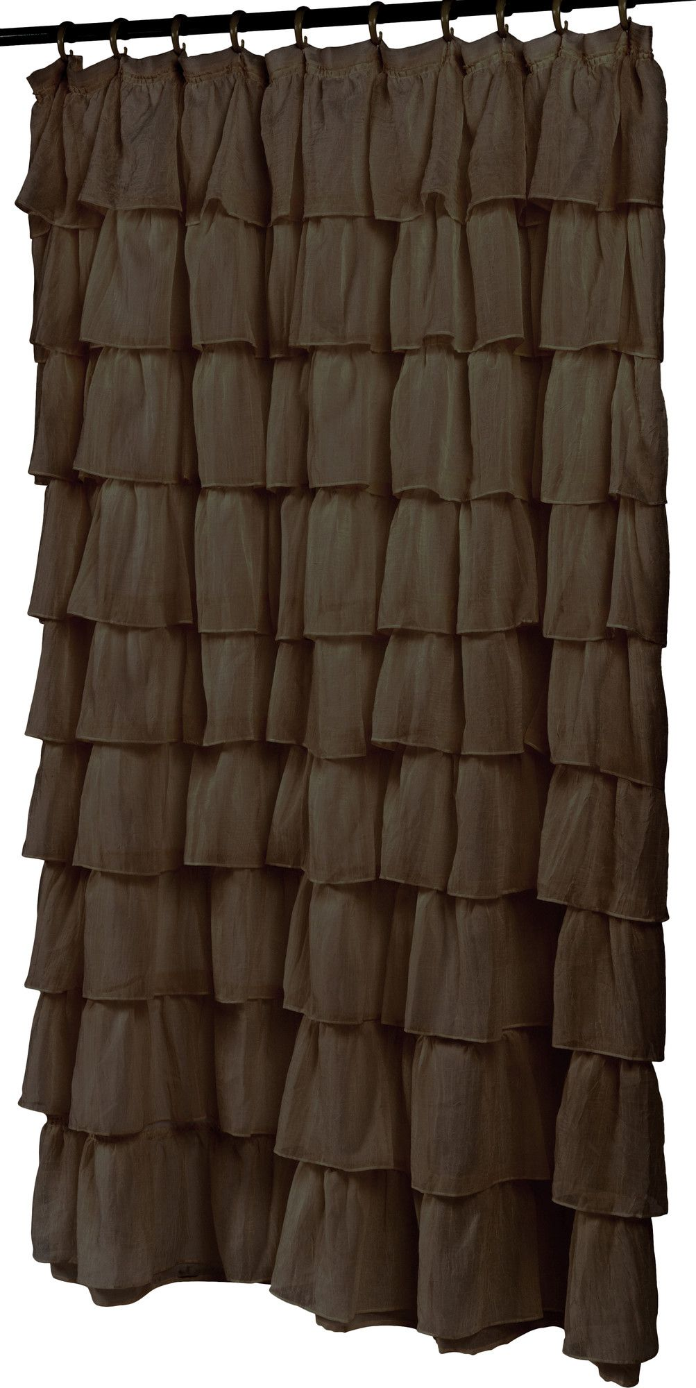 Rodemack ruffled tier shower curtain products pinterest products