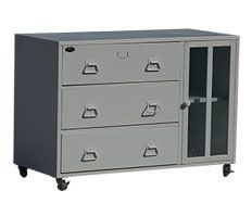 cbnt lateral storage cabinets have three drawers and one small cabinet this metal storage cabinet can be use at home