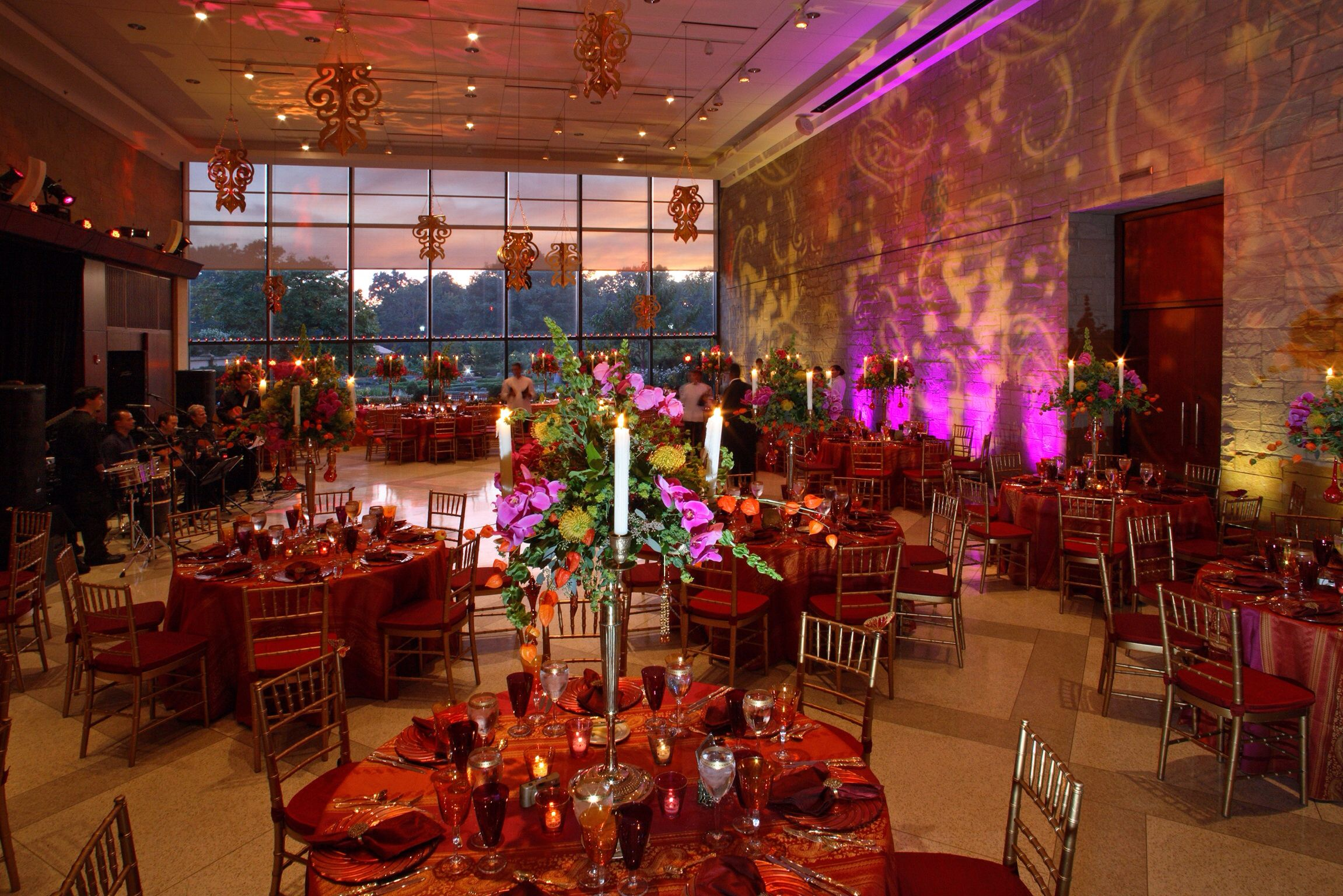 Wedding Design Of Cleveland Botanical Gardens By The Amazing Stephen Tokar