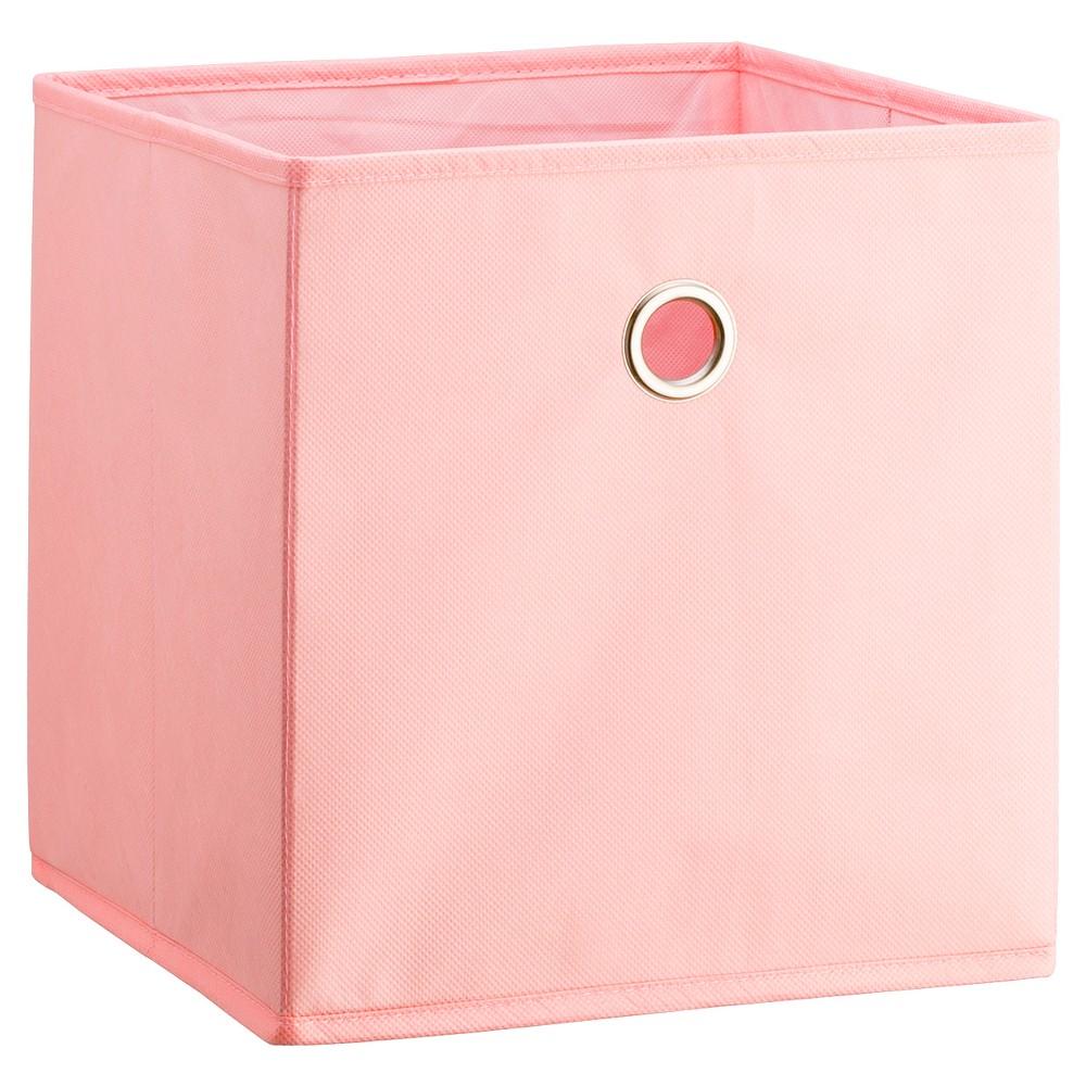 11 Fabric Cube Storage Bin Light Pink Room Essentials In 2020 Fabric Storage Cubes Cube Storage Bins Cube Storage