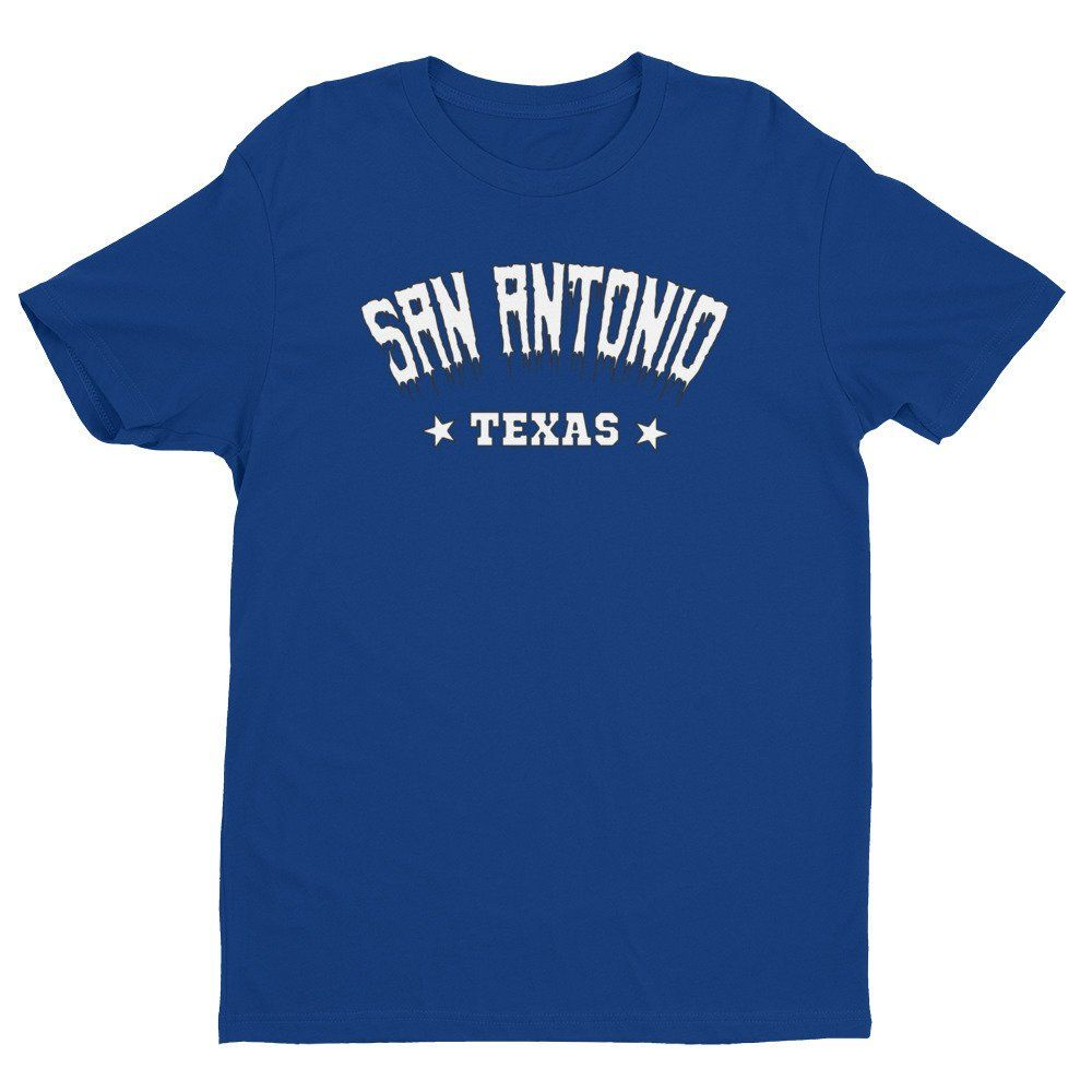 San Antonio Texas T Shirt Satx San Antonio City Black Heart Tees