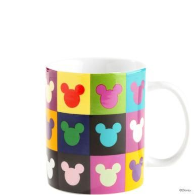 Disney Tasse Mickeykopf Kacheln Mickey Mouse Everything D 3 3