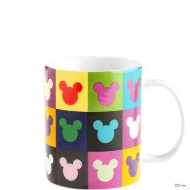 Disney Tasse Mickeykopf Kacheln Mickey Mouse Everything D 3 3