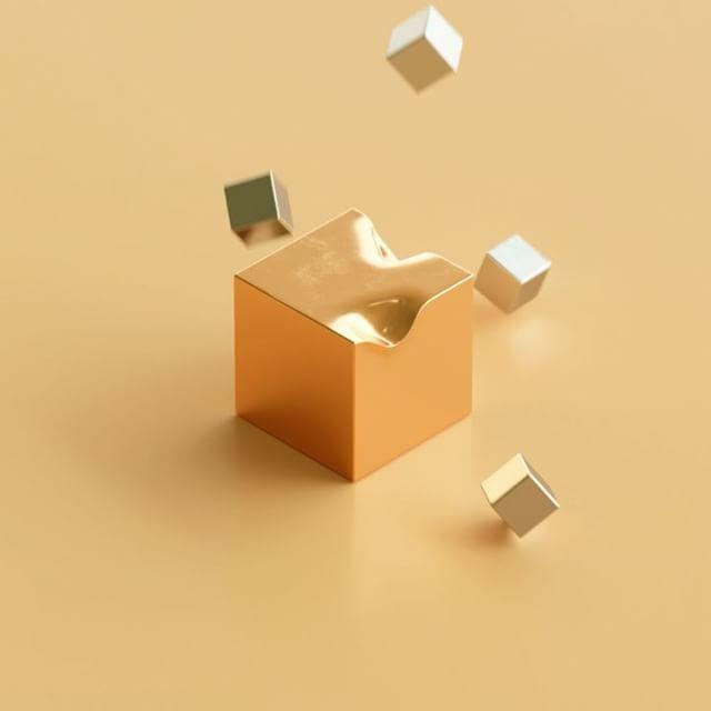 cubes  #cinema4d #c4d #octane #octanerender #simulation