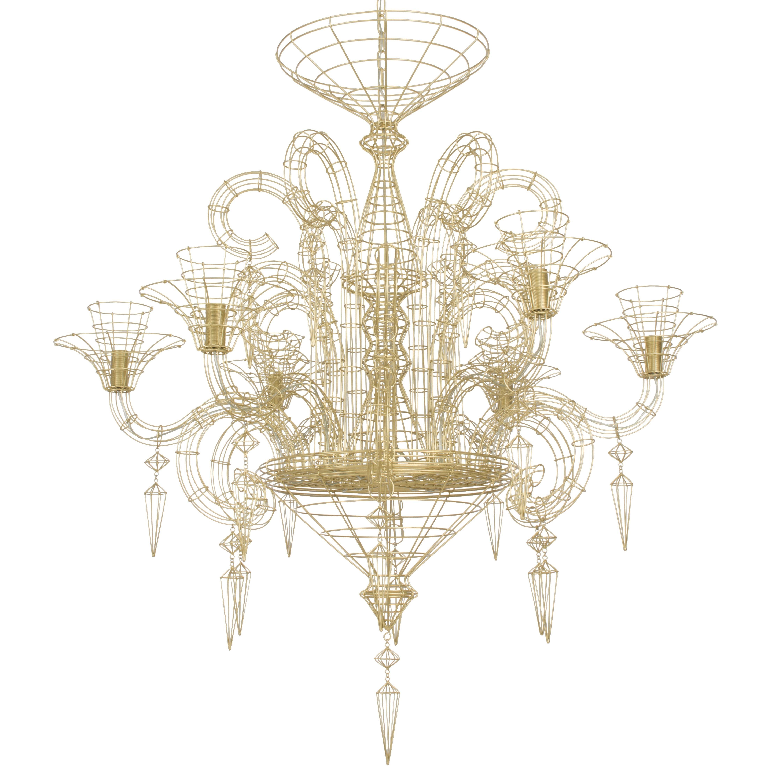 lustre angelus or h115cm forestier et la lumiere f t pinterest lustre luminaire. Black Bedroom Furniture Sets. Home Design Ideas