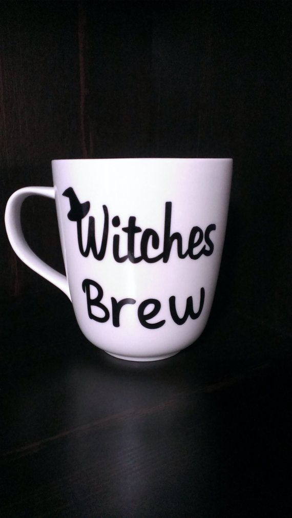 Witches Brew Coffee Cup Funny Cups Mugs Garden