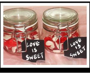 Wedding sweet favours