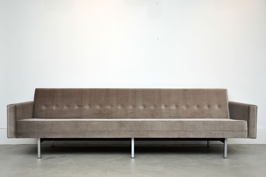 George Nelson Sofa From A Unique Collection Of Antique And