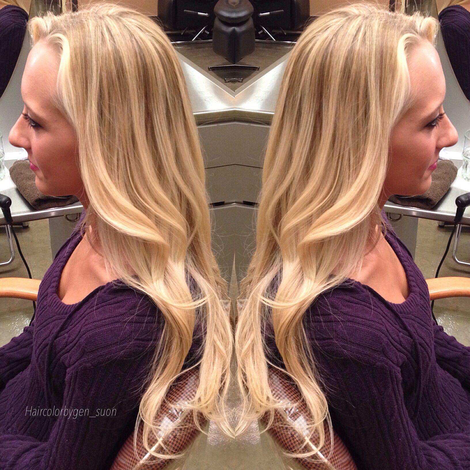 #balayage #hair #blonde