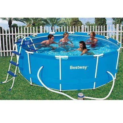 Piscina STEEL PRO 366*100 cm - YoElijoElPrecio Jardín - pool fur garten oval