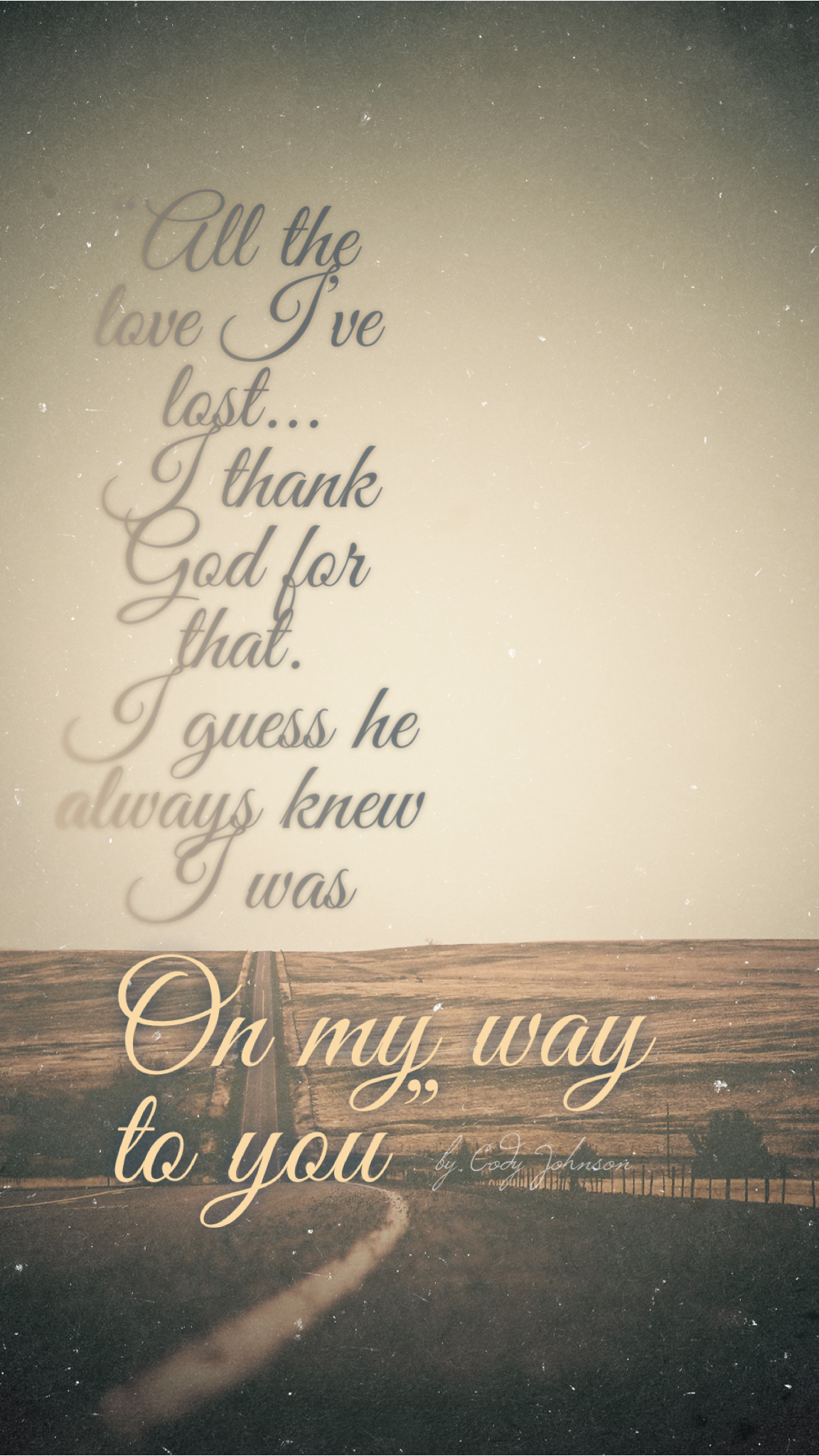 On My Way To You by Cody Johnson | Country love songs ...