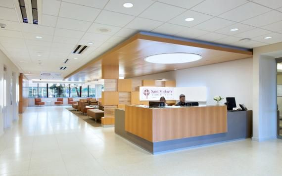 at newark, n.j.'s st. michael's medical center, illumination also
