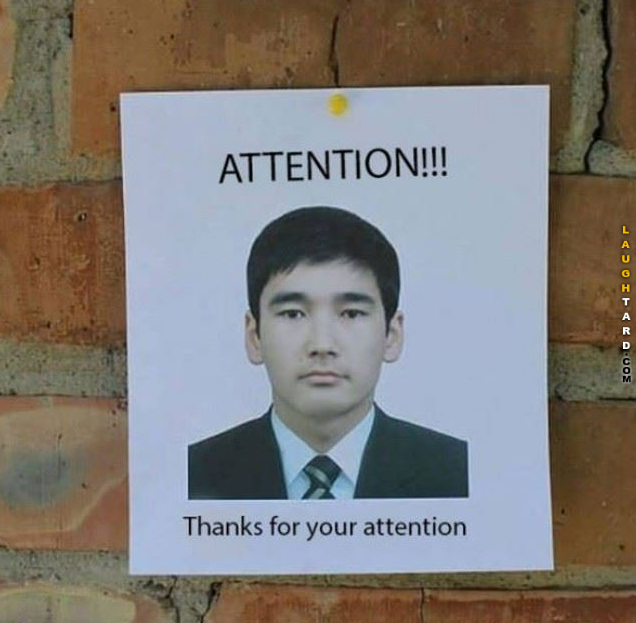 Thanks For Your Attention Memes Sarcastic Humor Funny Pictures