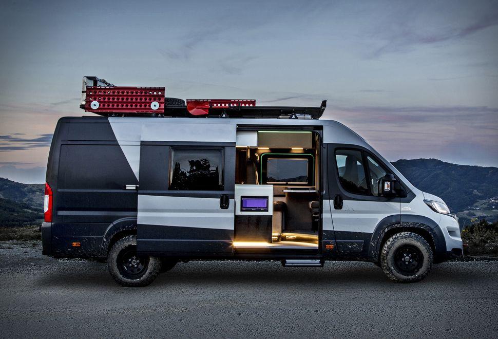 fiat ducato 4x4 expedition camper furgonetas. Black Bedroom Furniture Sets. Home Design Ideas