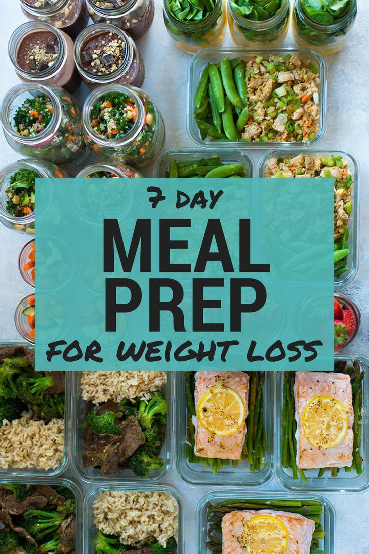 7-Day meal prep for weight loss • a sweet pea chef images