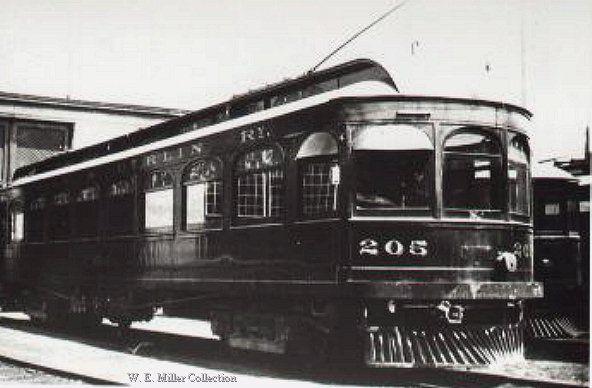 Preston & Berlin Railway 205 built by Preston Car & Coach ...