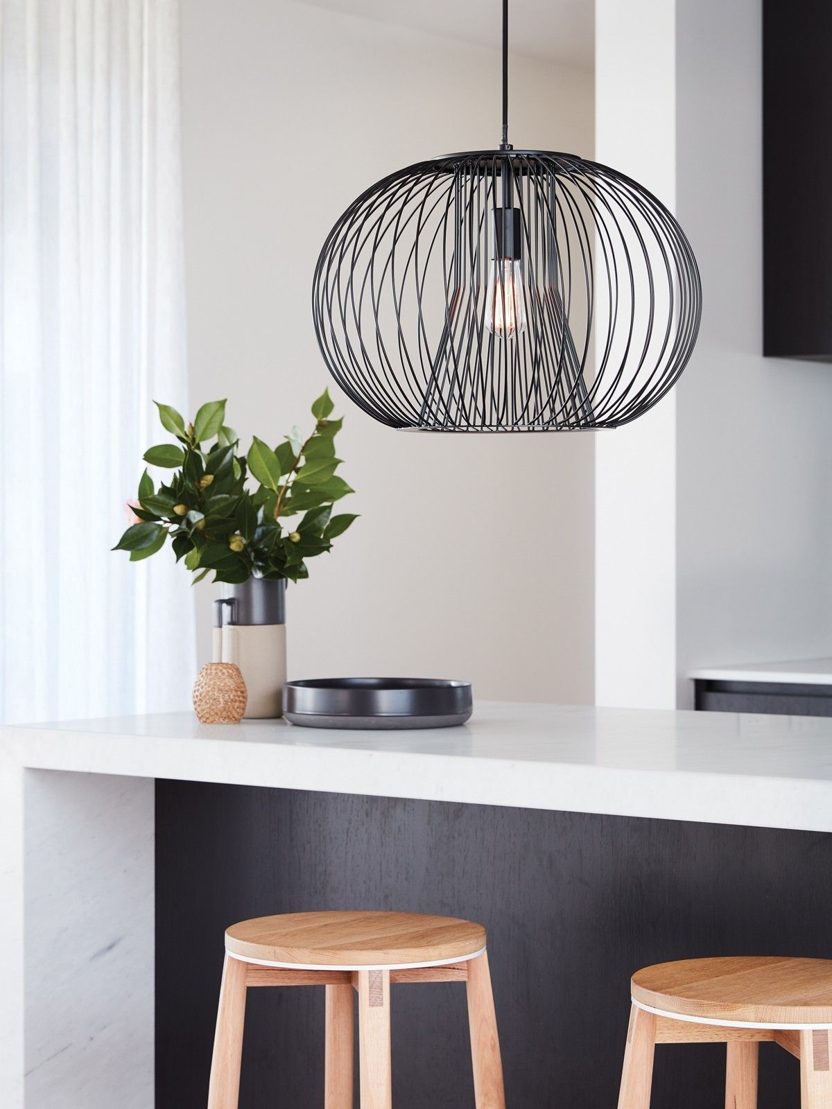 Hallway lighting modern  Pheonix  Light Pendant in Black  Lighting in   Pinterest