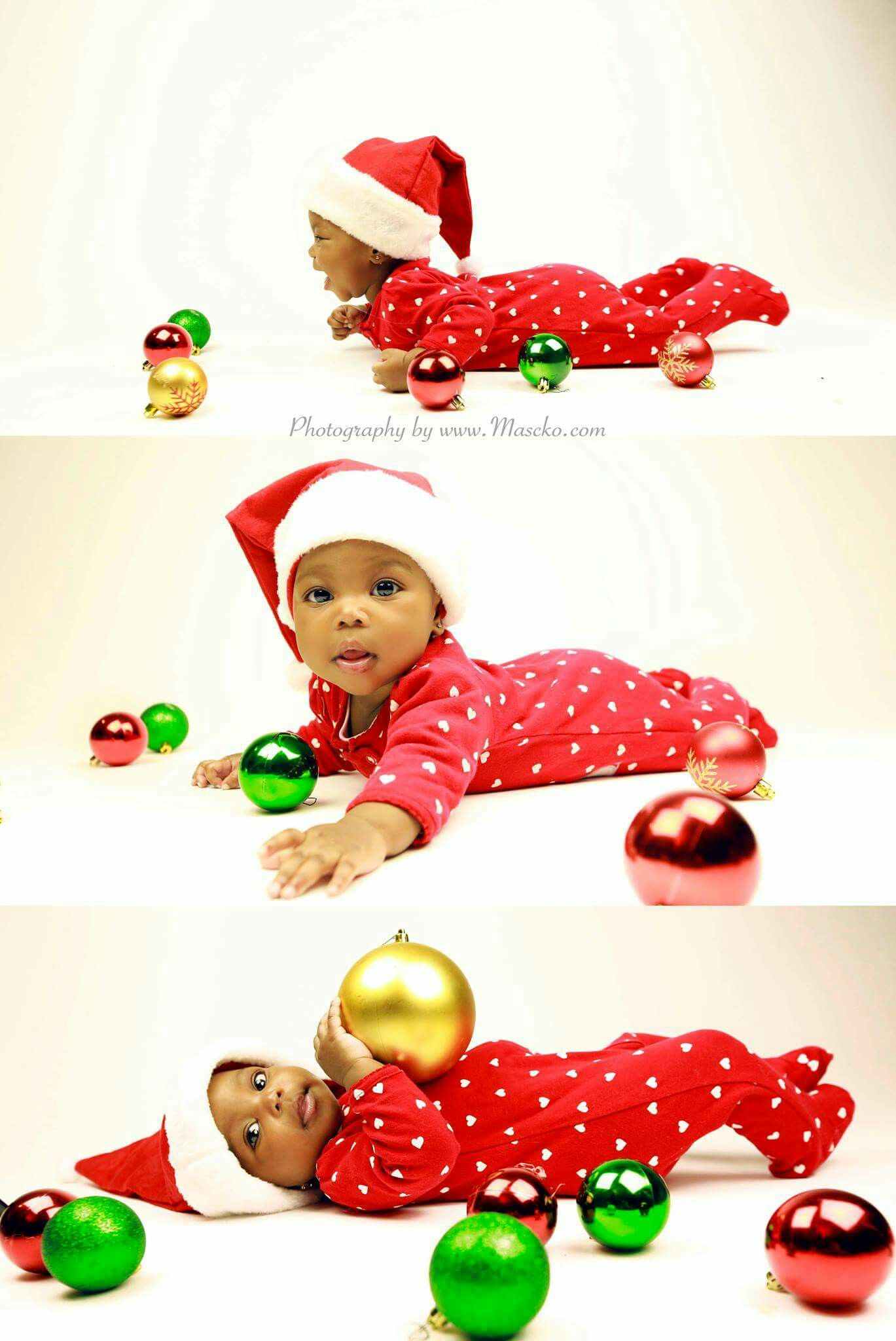 Newborn holiday portraits baby holiday photography black babies african american baby girl christmas sleeping baby newborn photography