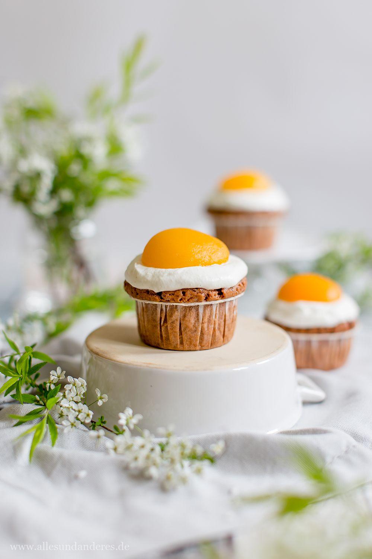 Zum Osterfest: Süße Spiegeleier-Muffins mit Schokolade #pumpkinseedsrecipebaked