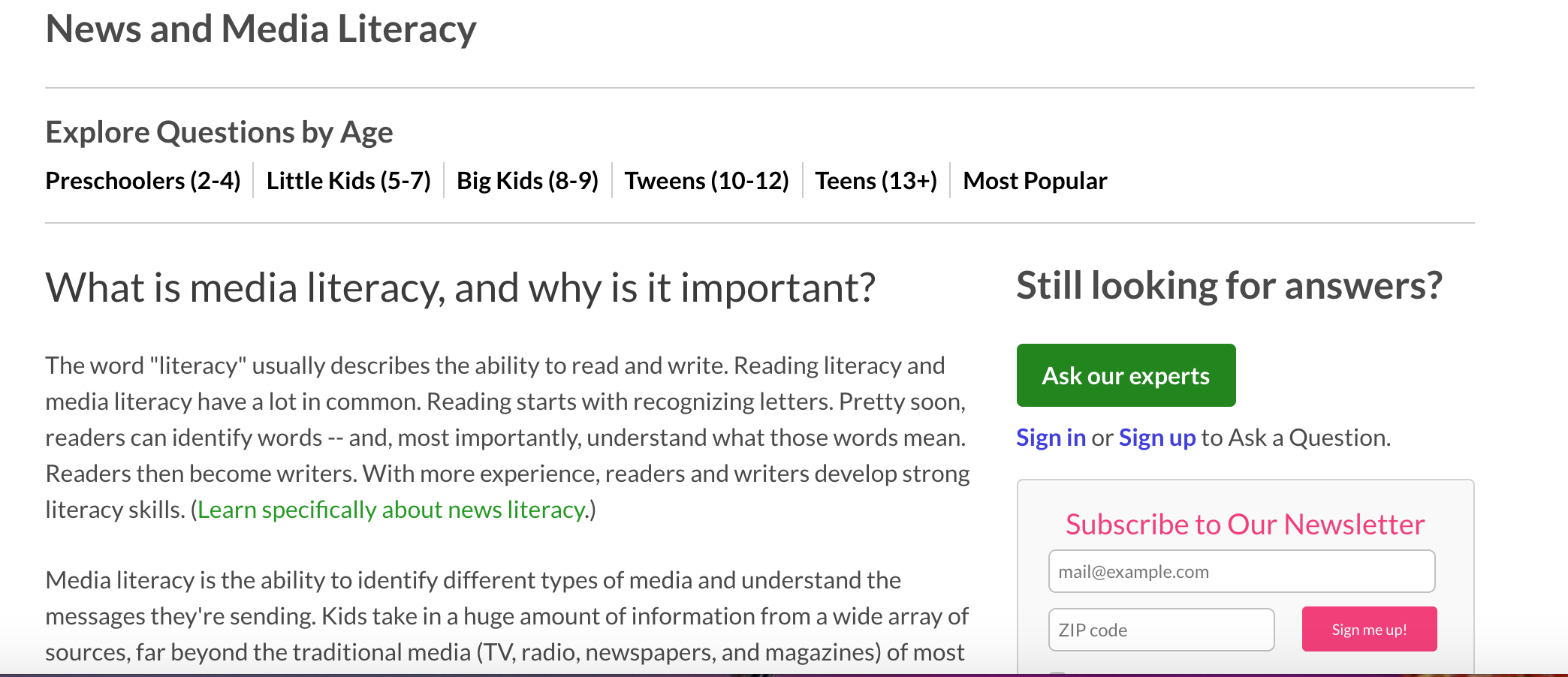 What Is Media Literacy And Why Is It Important With