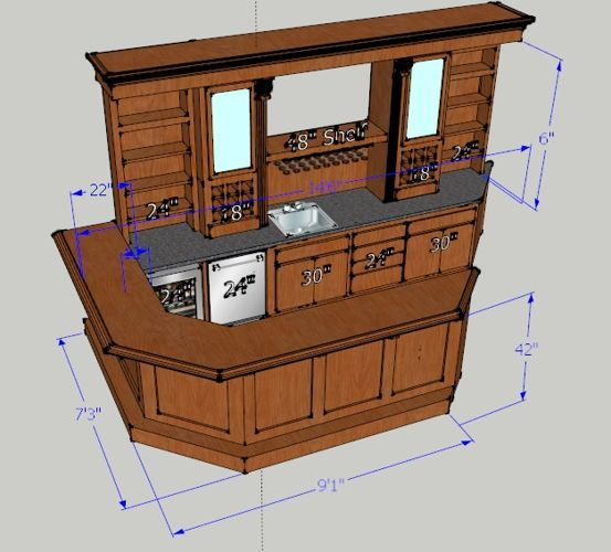 Basement Bar Ideas, Diy Basement Bar Ideas, Basement Bar