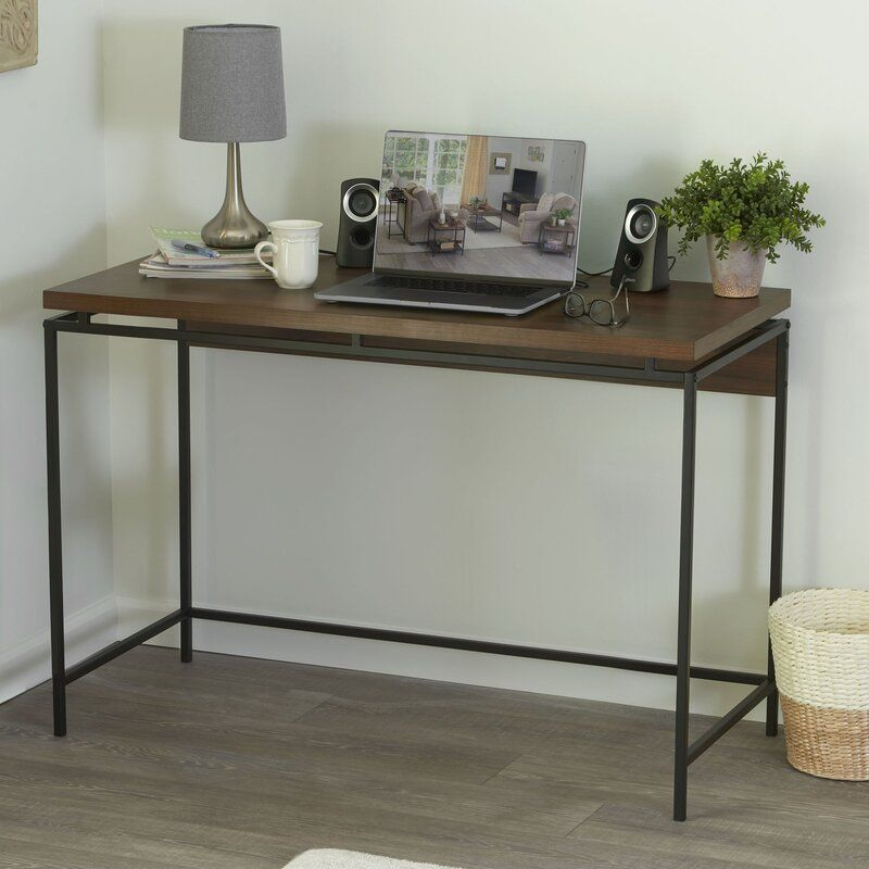 Wrought Studio Dunagan Desk Wayfair In 2020 Desk Home