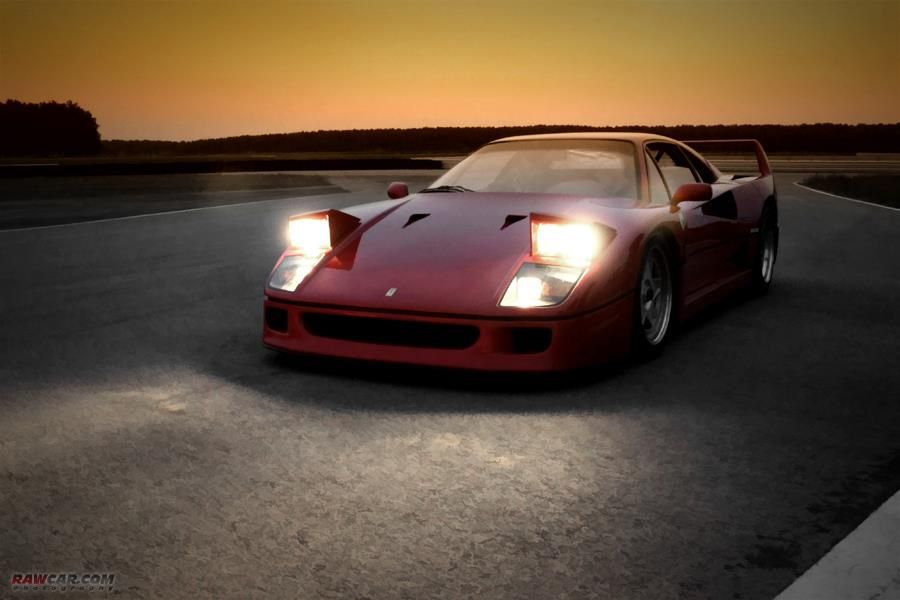F40 in the Darkness
