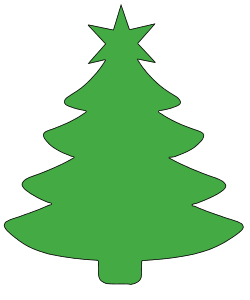 Christmas Tree Templates And Stencils Free Printable Patterns Christmas Tree Template Christmas Tree Stencil Christmas Tree Clipart