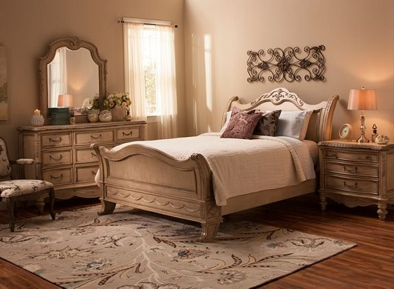 Empire 4-pc. King Bedroom Set | Bedroom Sets | Raymour and ...